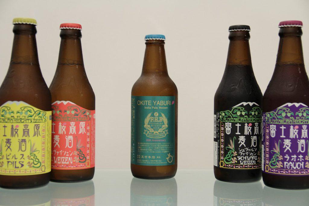 富士桜高原麦酒と志賀高原ビール