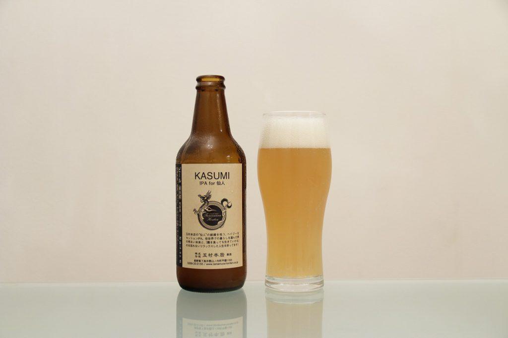 志賀高原ビール「KASUMI IPA for 仙人」 裏
