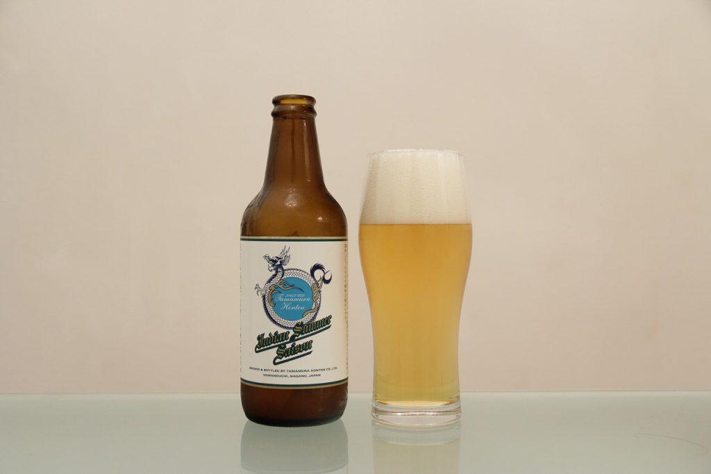 志賀高原ビール「Indian Summer Saison」とグラス