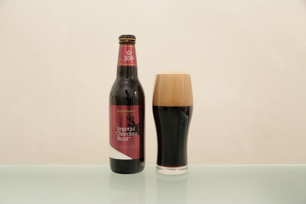 インペリアルチョコレートビールとグラス